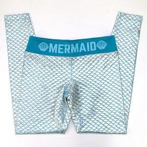 Disney Ariel Mermaid Aqua Scales Women's Leggings